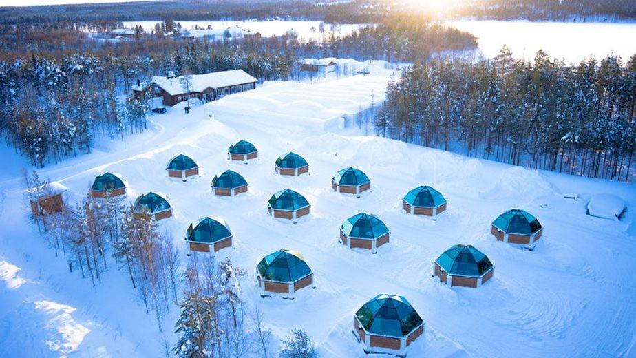 FINLANDIA: ROVANIEMI, AURORA E IGLOO DI VETRO
