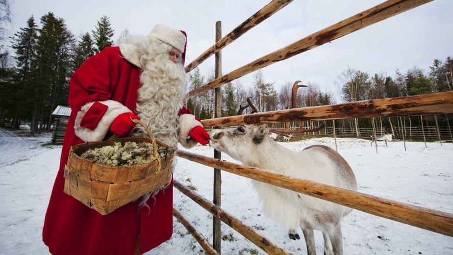 Villaggio Babbo Natale Rovaniemi.Rovaniemi E Babbo Natale Le Vie Del Nord